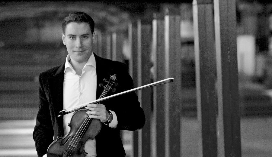 Portrait Kristóf Baráti, Violine