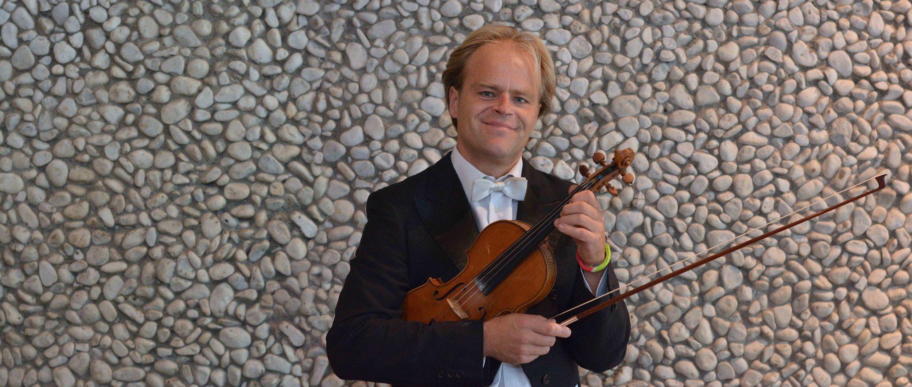 Portrait Friedemann Breuninger, 1. Violine (Konzertmeister)