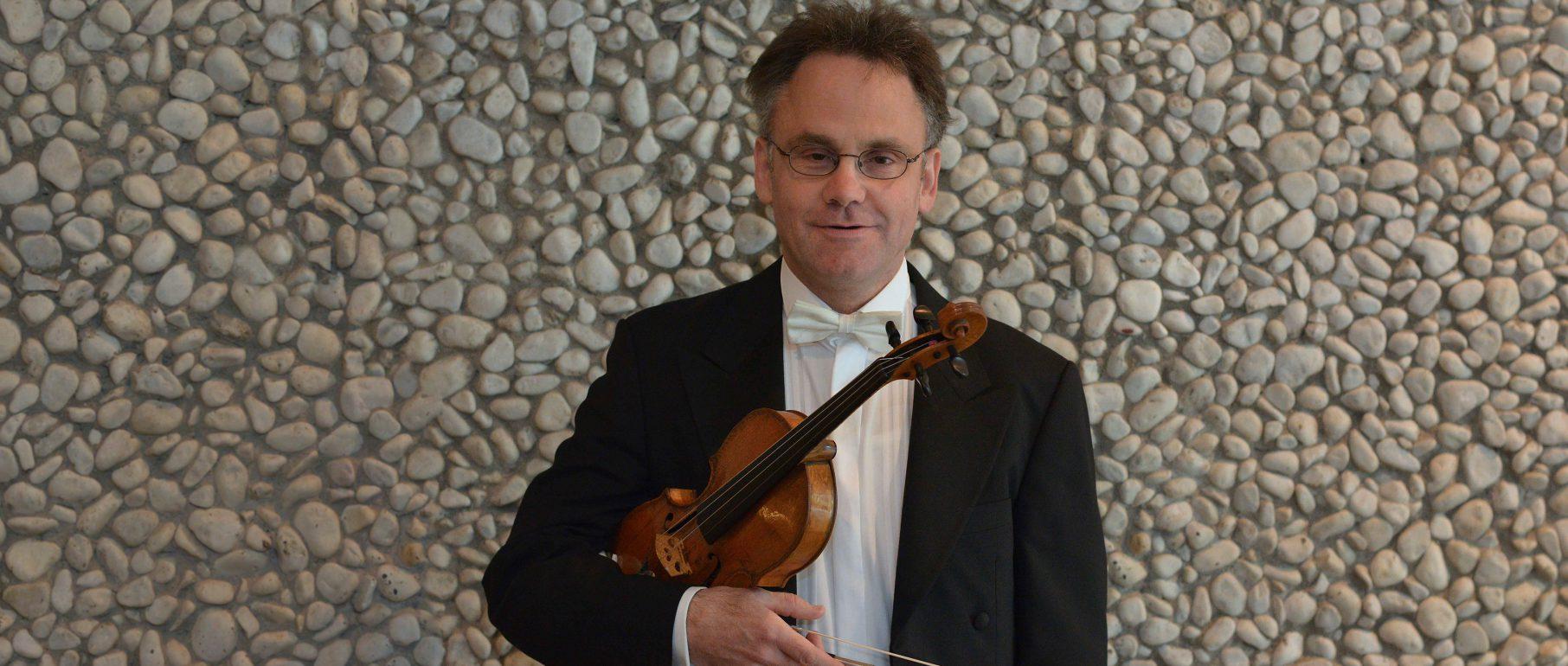 Michael Ewers, 1. Violine (Konzertmeister)