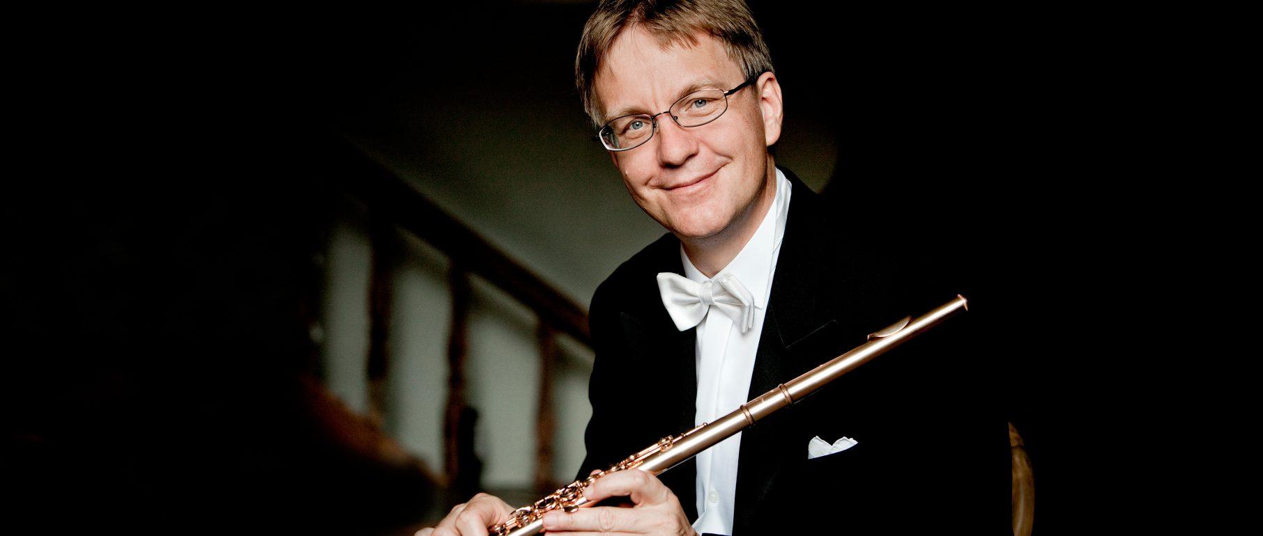 Portrait Michael Martin Kofler, Flöte