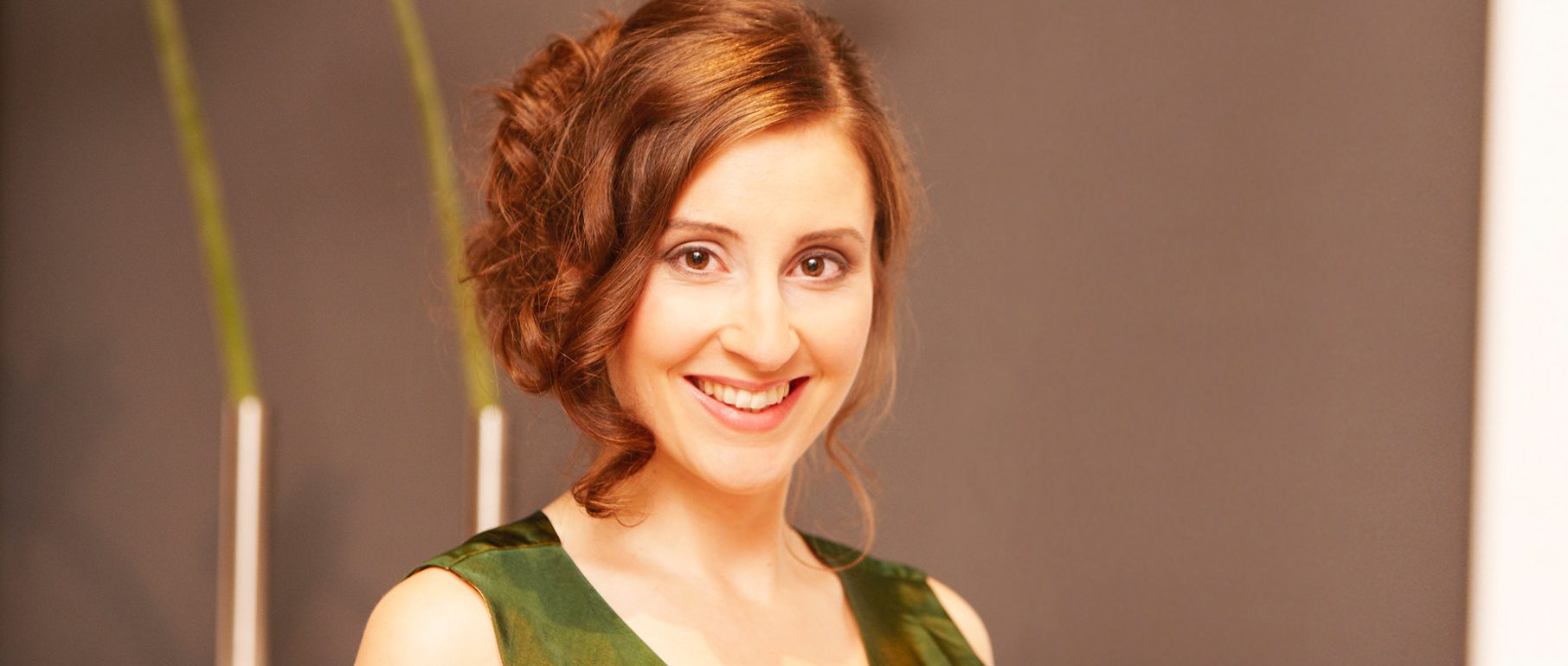 Portrait der Sopranistin Maria Rosendorfsky