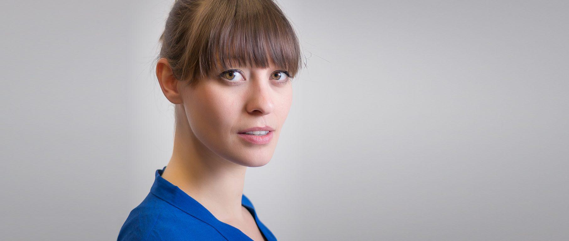 Portrait der Sopranistin Hanna Ramminger, Foto: Malte Schwarz