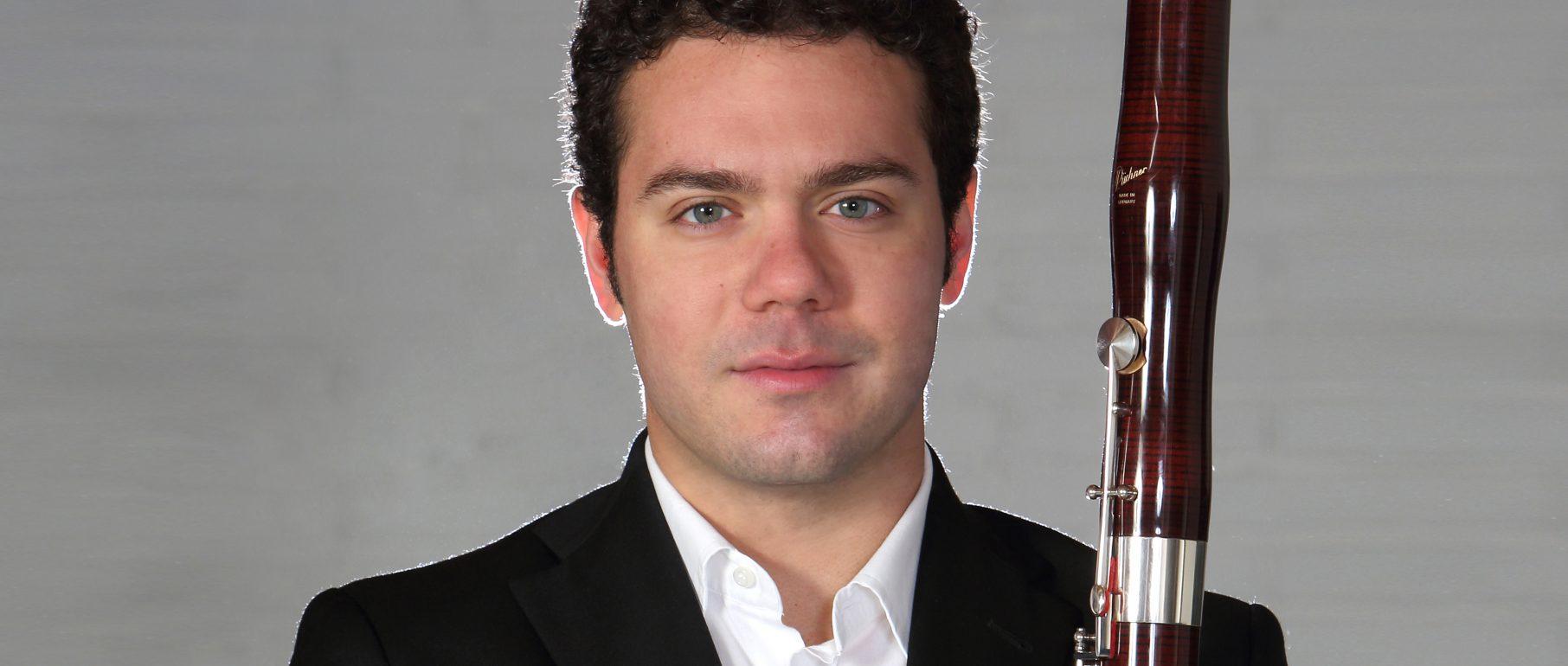 Portrait von Riccardo Terzo, Fagott